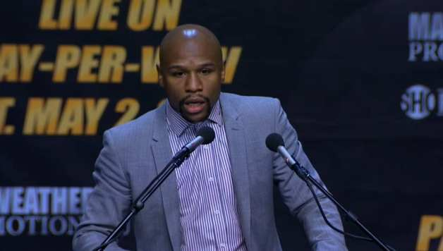 Mayweather not happy