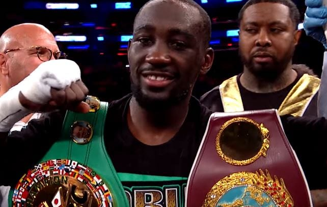 Terence Crawford Stopped
