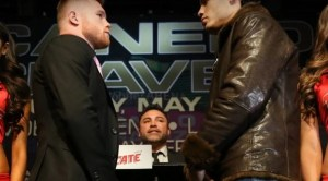 canelo vs chavez weigh in