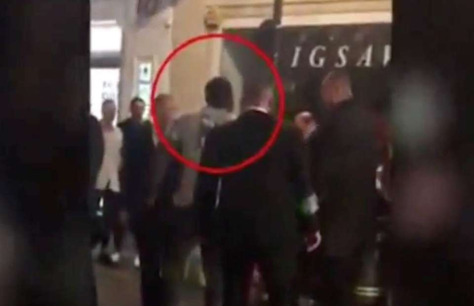 Dereck Chisora Video Appears To Show Boxer Trying To Stop Street Fight