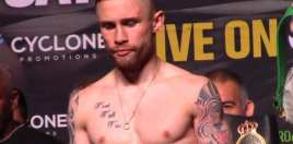 Carl Frampton Windsor Park TV Schedule