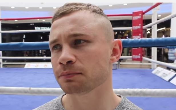 Carl Frampton Verbally Shuts Down Ohara Davies On Twitter