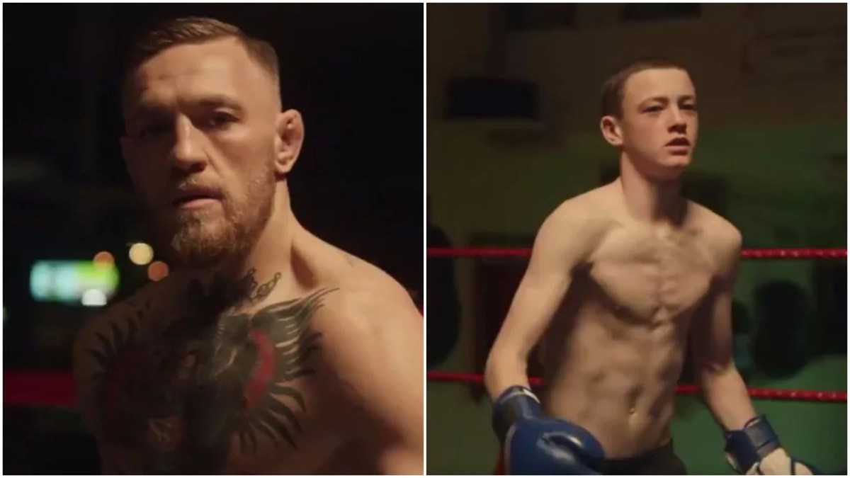 McGregor Brings Out Amazing Childhood Short Video Before Mayweather Fight