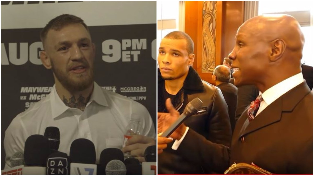Conor McGregor On Chris Eubank Senior and Junior