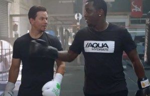 P Diddy and Mark Wahlberg