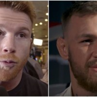 Golden Boy Respond To Canelo vs McGregor Rumors