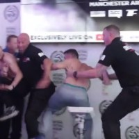 Parker vs Fury Weigh In Results and Chaotic Undercard Moment