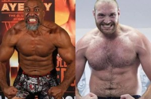 Tyson Fury and Shannon Briggs