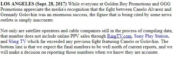 Golden Boy and GGG Promotions