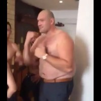 Watch: Tyson Fury Does The Haka (Shirtless) With Joseph Parker After Cousin Hughie's Fight
