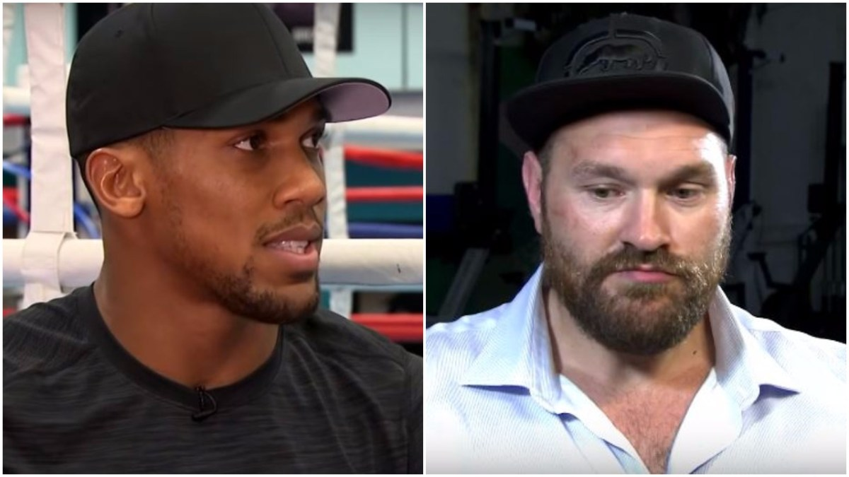 Anthony Joshua Does An Impression Of Tyson Fury