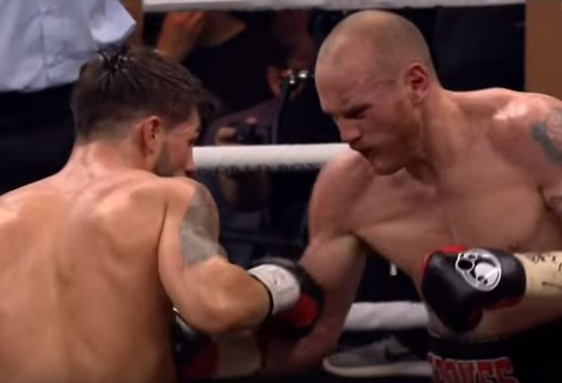 The Sickening Body Punch Landed By George Groves On Jamie Cox