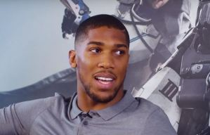 Anthony Joshua Set