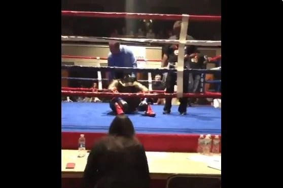 Boxer Refuses To Enter The Ring and Announcer Confirms Suspension