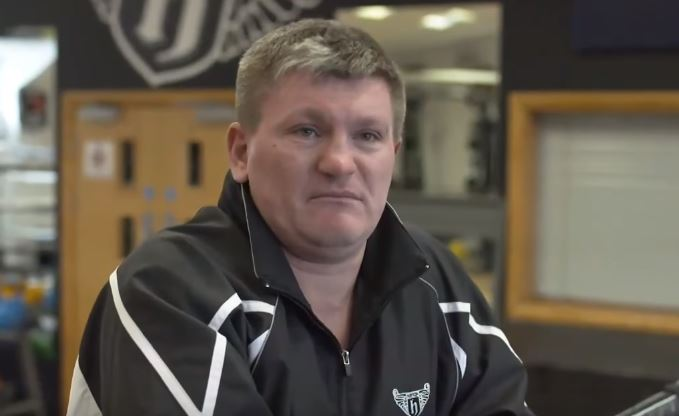 Ricky Hatton Believes Ryan Burnett Is In Trouble