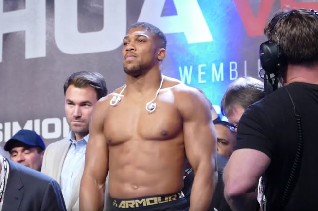 Promoter Responds To Controversial Anthony Joshua Video