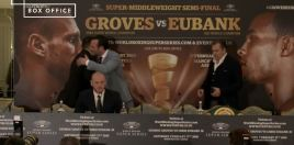 Eubank Jr vs Groves press conference