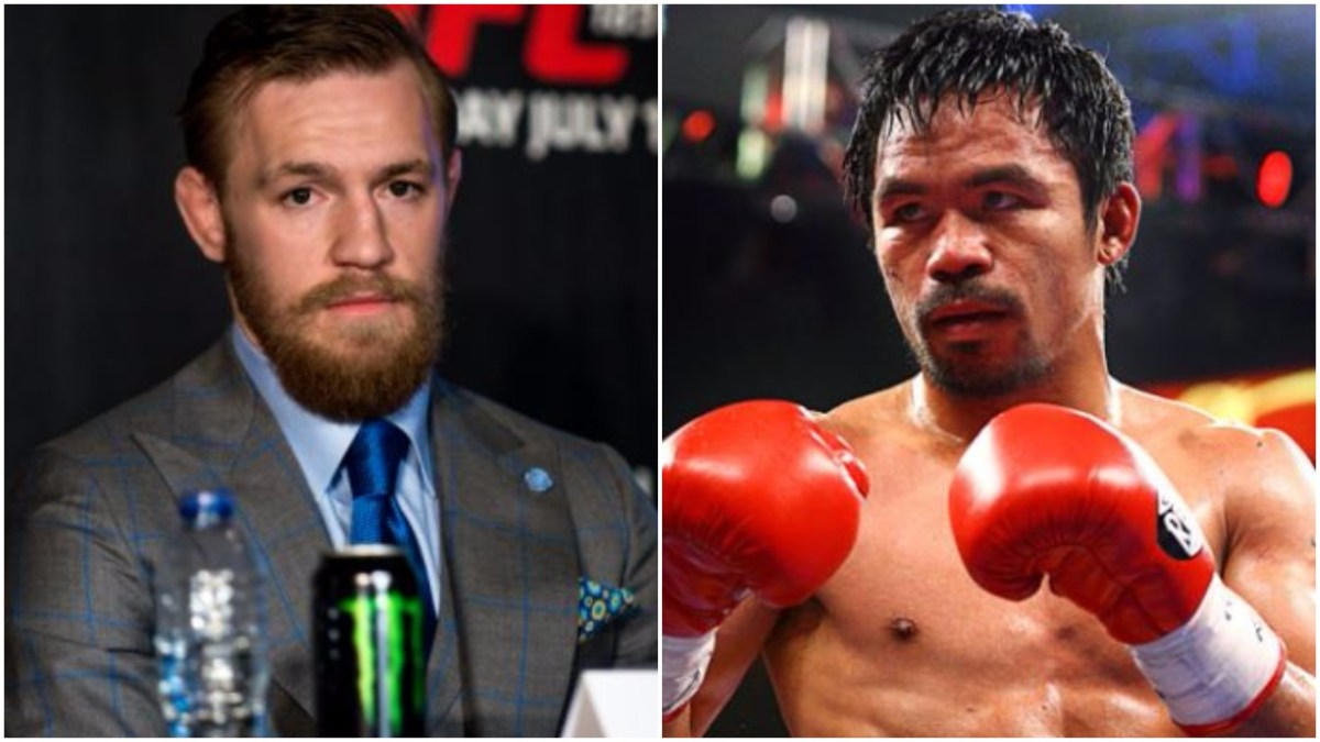 Manny Pacquiao Hints At Conor McGregor Boxing Match For Next Fight