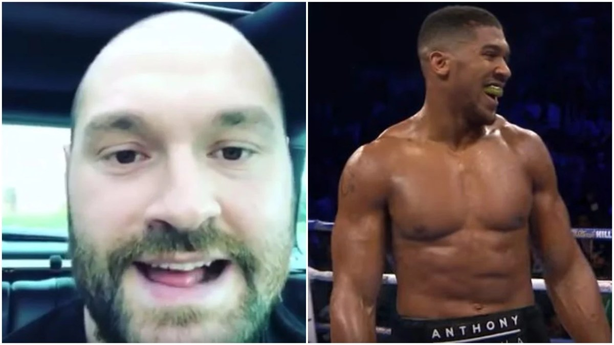 Tyson Fury Speaks Out On Controversial Alleged Anthony Joshua Remarks
