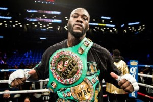 Deontay Wilder Announces