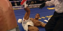 Anthony Joshua Got Badly Hurt