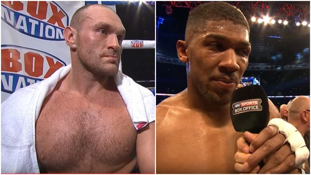 Promoter Reveals The Plan To Make Anthony Joshua vs Tyson Fury Fight