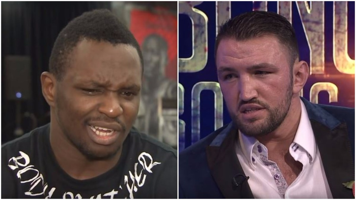 Dillian Whyte Responds To Hughie Fury Call Out