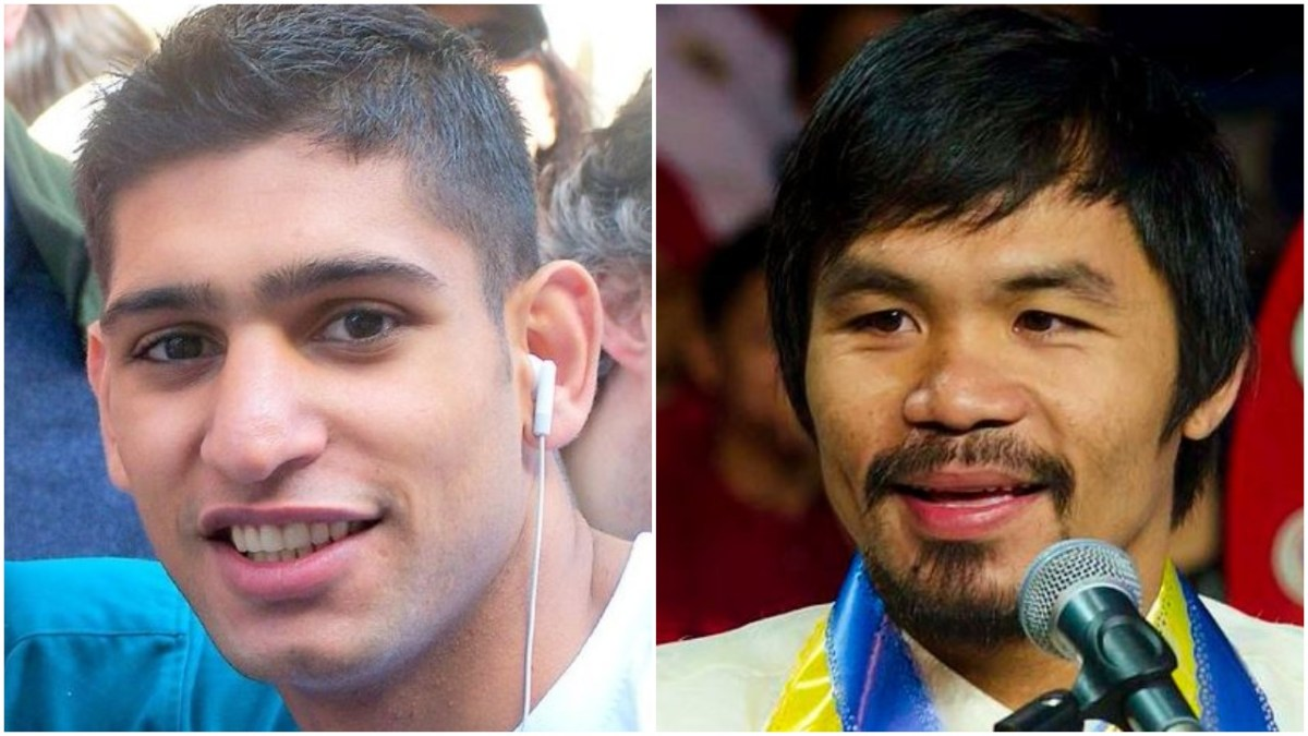 Fans Rip Into Amir Khan After Cheeky Remark To Manny Pacquiao