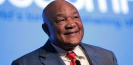 George Foreman Reacts To Crawford Knocking Benavidez Out