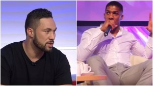 US TV Confirmed For Anthony Joshua vs Joseph Parker