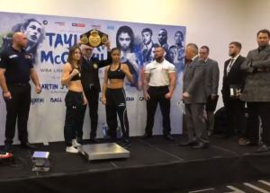 Katie Taylor and Conor Benn