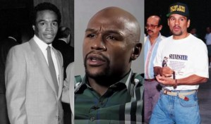Mayweather Contacts Ray Leonard