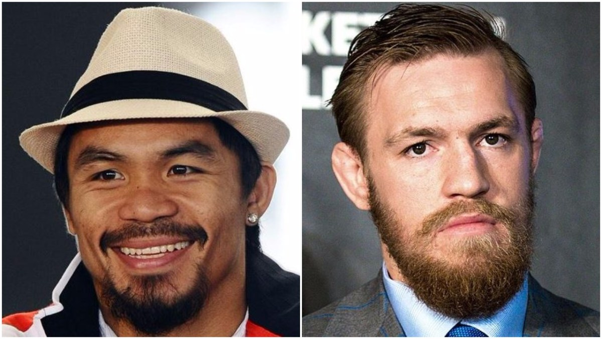 Manny Pacquiao Responds To 2018 McGregor Boxing Match Idea