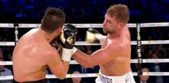 Saunders vs Lemieux Fight