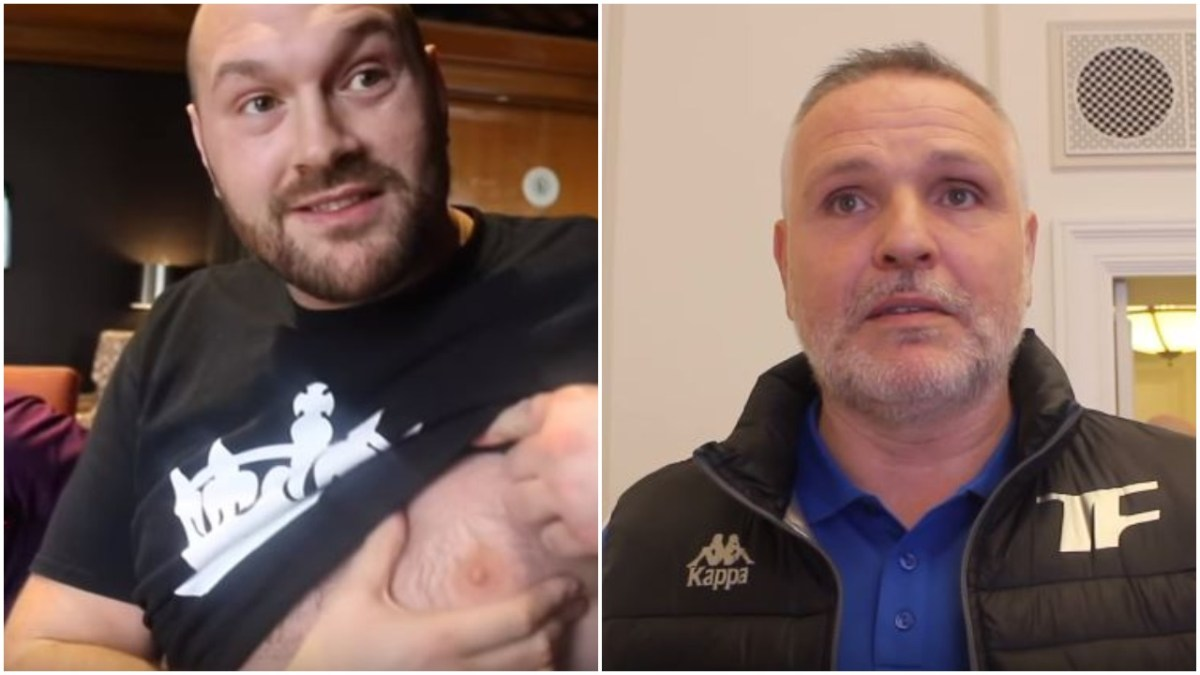 Tyson Fury Reveals Shock Change Of Trainer - Uncle Peter Fury Out