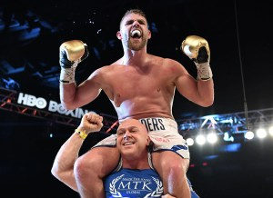 boxing Clinic Put On By Billy Joe Saunders