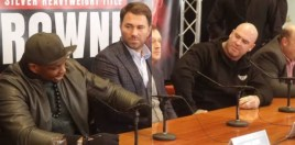 Dillian Whyte and Lucas Browne Clash At Presser