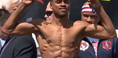 Errol Spence vs Lamont Peterson Weigh In