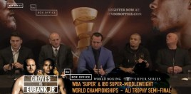 Eubank vs Groves Presser