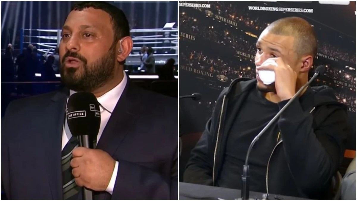 Naseem Hamed Completely Goes Off On Eubank Jr In Viral Video