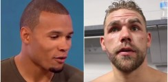 Saunders Slams Chris Eubank