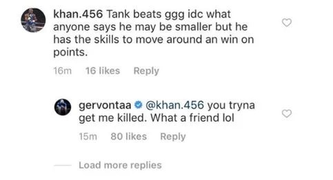 Tank Davis Brutally Honest About What Golovkin