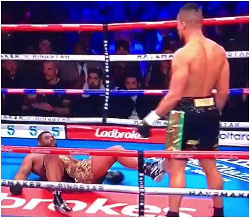 Watch: Joe Joyce KO American Donnie Palmer In 38 Seconds
