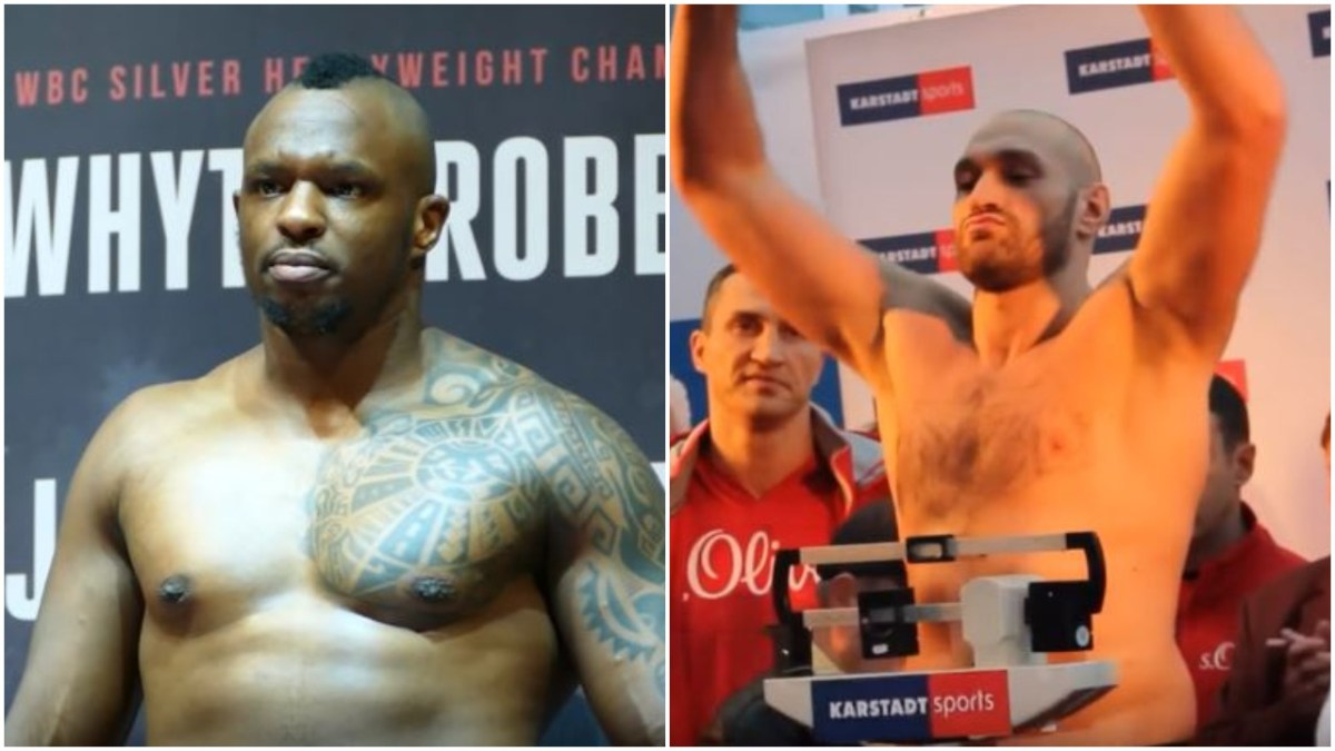 Fury and Dillian Whyte Trade Brutal War Of Words - Whyte Reveals Sparring Story