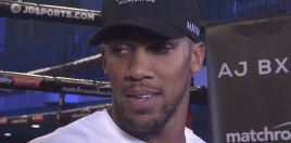Anthony Joshua Gives Update
