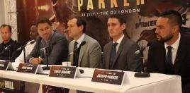 Joseph Parker Reveals Message Dillian Whyte