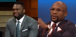 50 Cent Makes Allegation About Mayweather's Investments