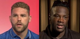 Billy Joe Saunders Reacts To Attacking Deontay Wilder With A Piece Of Chicken