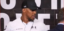 Anthony Joshua Makes An Honest Admission About The Parker Fight