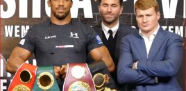 Anthony Joshua vs Alexander Povetkin Preview and Prediction